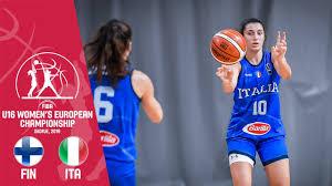 Finland v Italy - FIBA U16 <b>Women's European</b> Championship <b>2019</b>