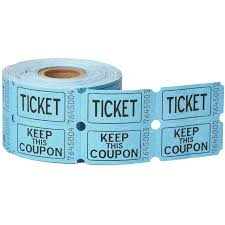 double roll raffle tickets ct assorted colors com