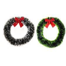 30Cm/35Cm Wreath <b>Bow Xmas</b> Decor <b>Bowknot Garland Tree</b> ...