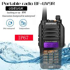 <b>Baofeng UV</b>-9R IP67 <b>8W</b> Long Range Walkie Talkie 10km Amateur ...