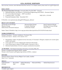 johnson student biography to view gea s resume click