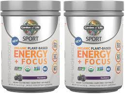 Garden Of Life <b>Sport</b> Pre Workout Review – <b>Energy</b> & Focus