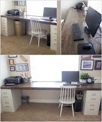 have a nice long computer desk in one of the basement bedrooms can be used basement office setup 3 primary