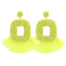 2019 <b>Sehuoran</b> Fashion <b>Tassel Drop Earrings</b> Women Handmade ...