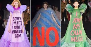 <b>Viktor &amp</b>; <b>Rolf</b> Shows Meme Couture at Paris Fashion Week 2019