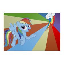 <b>Холст 20</b>×<b>30</b> Rainbow Dash Color Line #2304167 от shadow_dash