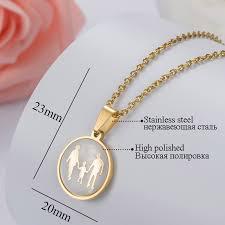 <b>ZFVB Trendy</b> Whole family DAD MOM SON <b>Pendant Necklaces</b> ...