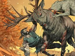 Klaus e Lili caçando.