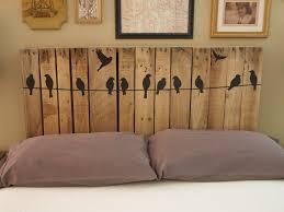 Diy Wood Headboard 11 Easy And Budget Friendly Diy Pallet Headboards Shelterness