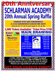 raffle academy raffle tickets go on on friday 3