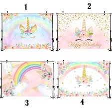 <b>NeoBack Unicorn Birthday Party</b> Photography <b>Backdrops</b> Newborn ...