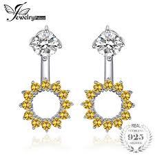 2018 <b>Jewelrypalace Round 1.65ct Created</b> Orange Sapphire ...