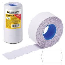 <b>Этикет</b>-<b>лента</b> 26х16 мм, волна, белая, комплект 5 рулонов по 800 ...