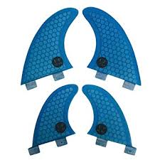 UPSURF <b>Surfboard</b> 4 <b>fins</b> G3+<b>GL</b> / <b>G5</b>+<b>GL</b> Fiberglass Thrusters ...