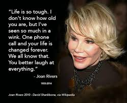 Joan Rivers Quotes On Death. QuotesGram via Relatably.com
