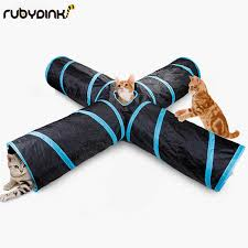<b>Cat Play toy</b> Tunnel Funny <b>Pet</b> Tunnel Foldable Bulk Small <b>Pet Toys</b> ...