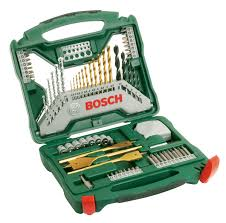 <b>Bosch 2607019329 70</b> Pc <b>X Line</b> Accessory Drill Set from Lawson HIS