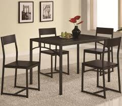 Five Piece Dining Room Sets Coaster Dinettes Chic 5 Piece Dining Set Value City Furniture