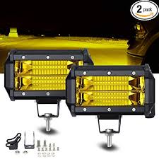 SAMLIGHT Led Light Bar 2 PCS Waterproof 5 Inch ... - Amazon.com