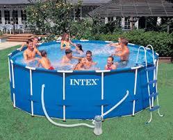 <b>Каркасный</b> бассейн 457х122см, Metal Frame <b>Pool intex 28242</b>...