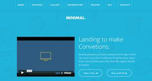4 Great Examples of Video Landing Pages
