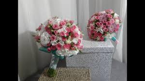 Свадебный букет из кустовой розы и эустомы. Wedding <b>bouquet</b> ...