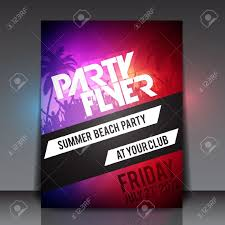 party flyer templates anuvrat info summer beach party flyer template royalty cliparts vectors