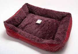 Soft Comfy Wrax Leather Washable Dog Pet Cat <b>Warm Basket</b> Bed ...