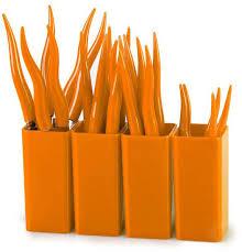 """Набор <b>столовых приборов MOULINvilla</b> """"Chili"""", цвет: оранжевый ..."""