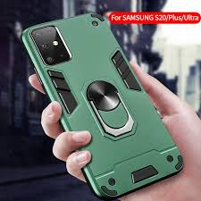 For Samsung S20 S20Plus S20 Ultra <b>Armor Car Magnetic</b> Holder ...