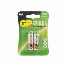 <b>Батарейка GP Super Alkaline</b> АА LR6 2шт 15А-BC2 - купить с ...