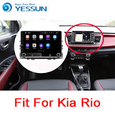 YESSUN <b>For Kia Rio</b> YB <b>2017</b>~2018 Android Car Navigation GPS ...