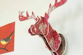 Chronicle <b>Craft</b>: Make Your Own Paper <b>Deer Head</b> - Chronicle ...