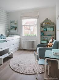 green childrens bedroom interior decoration solid