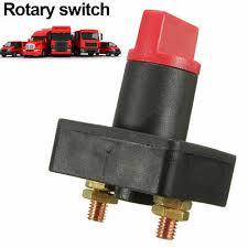100A Battery <b>Isolator</b> Master <b>Disconnect</b> Power Cut Off Kill Switch ...
