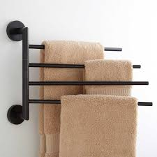 rack bathroom wall shelf essentials grohe furniture antique colvin quad swing arm towel bar dark oil rubbed bron