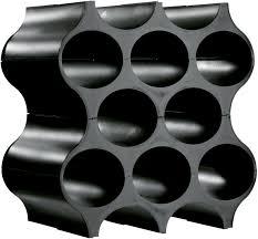 <b>Подставка для бутылок</b> Koziol <b>Set</b>-<b>Up</b>, цвет: черный