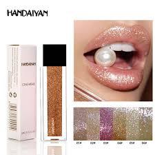 <b>HANDAIYAN</b> New Makeup Lips <b>Shimmer</b> Shining <b>Lip Gloss</b>