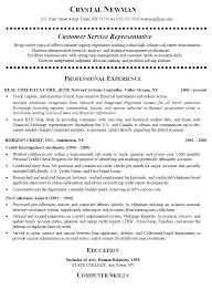 customer service representative resumefree resume templates