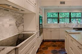 Terracotta Kitchen Floor Tiles Manganese Saltillo Tile Shown In 12x12 Hexagon Terra Cotta Floor