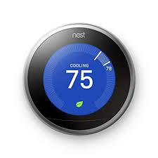 Google, <b>T3007ES</b>, Nest Learning Thermostat, 3rd Gen, Smart ...