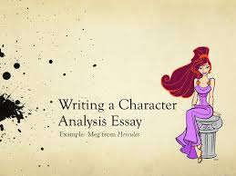 writing a character analysis essay example meg from hercules  writing a character analysis essay example meg from hercules