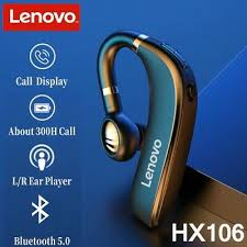 Original <b>Lenovo HX106</b> Bluetooth <b>Earphone</b> Pro <b>Wireless</b> Bluetooth ...