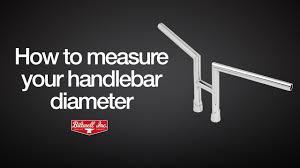 How to measure your <b>handlebar</b> diameter - YouTube