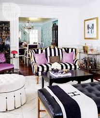 jessica waks black and white striped furniture