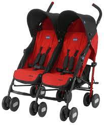 Купить <b>коляска</b> для двойни и погодок <b>Chicco Echo Twin</b> Garnet ...