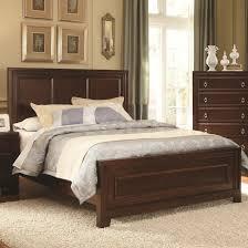 varnished brown mahogany queen bed bedroom stunning ikea beds