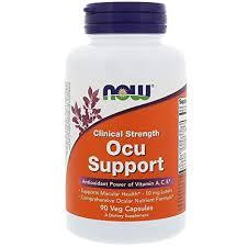 Buy Now Foods, <b>Clinical Strength Ocu</b> Support, 90 Veg Capsules ...