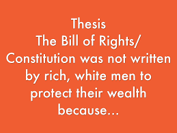 bill of rights thesis  bill of rights thesis