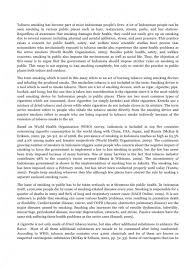 a conclusion for persuasive essay about smoking   essay topicssmoking persuasive essay conclusion morehd image